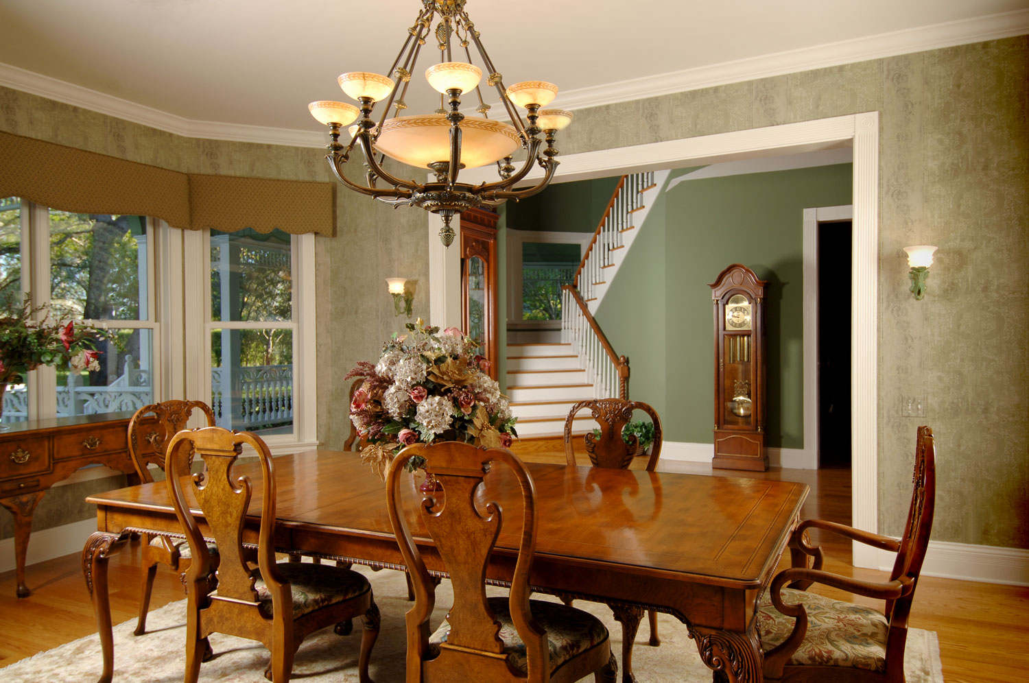 Victorian Home Dining Room