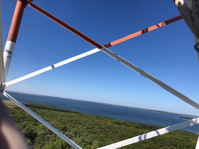 Framed photo of Devils Lake, ND_Tanner D.jpg