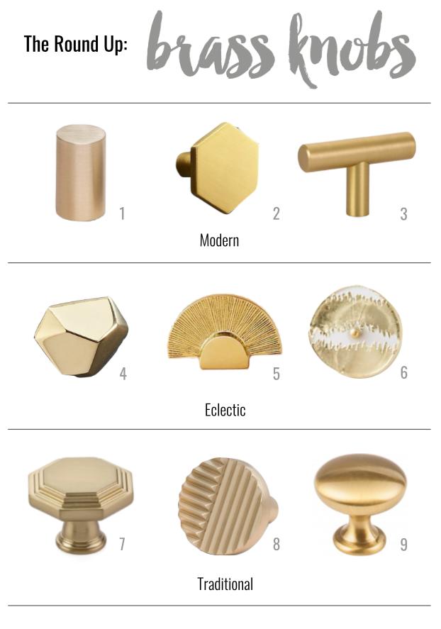 THE ROUND UP: Brass Knobs