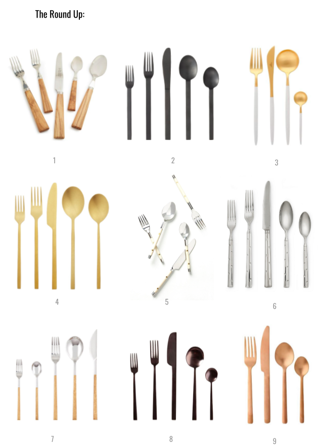 THE ROUND UP: Flatware