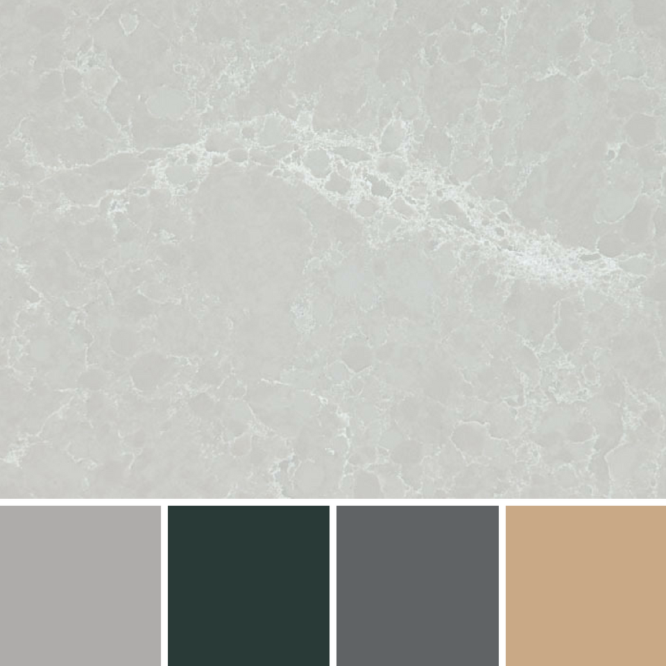 CURATED COLOURS: Caesarstone