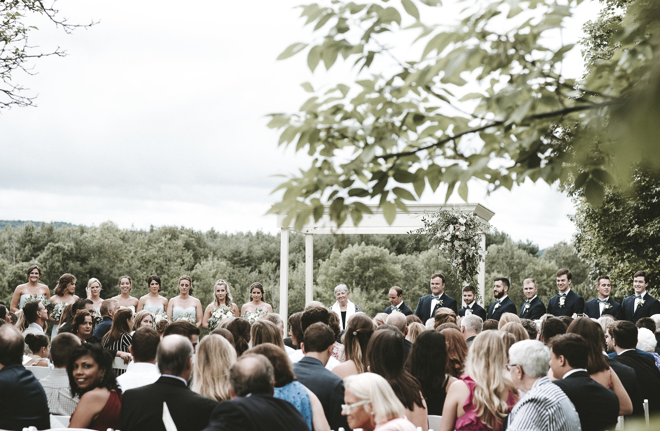 A Classic Weekend Affair - Real Wedding - August