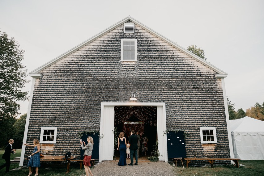 A Dinner Party-Style Wedding - Real Wedding - Fall