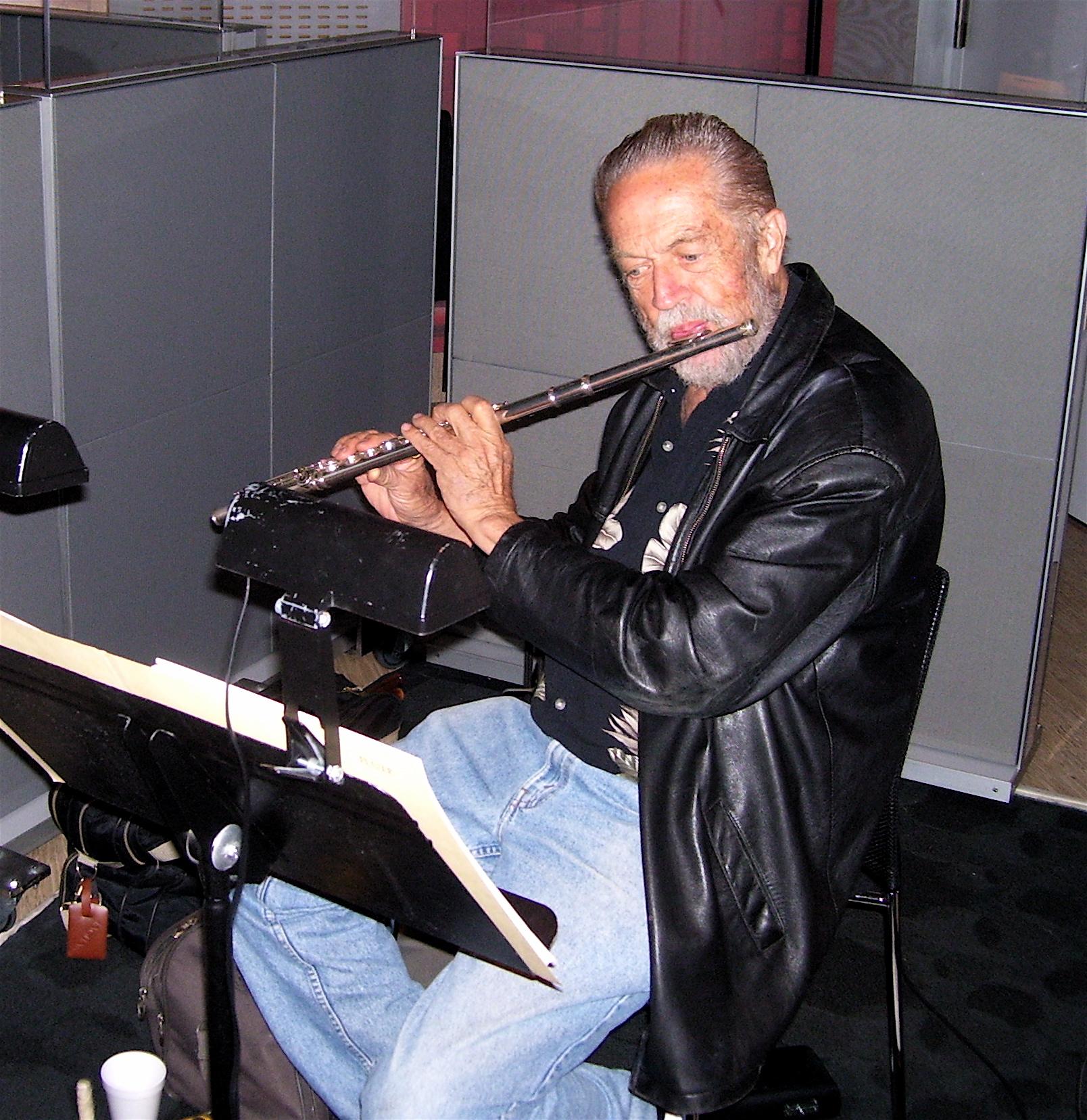 Sheridan Stokes, flute