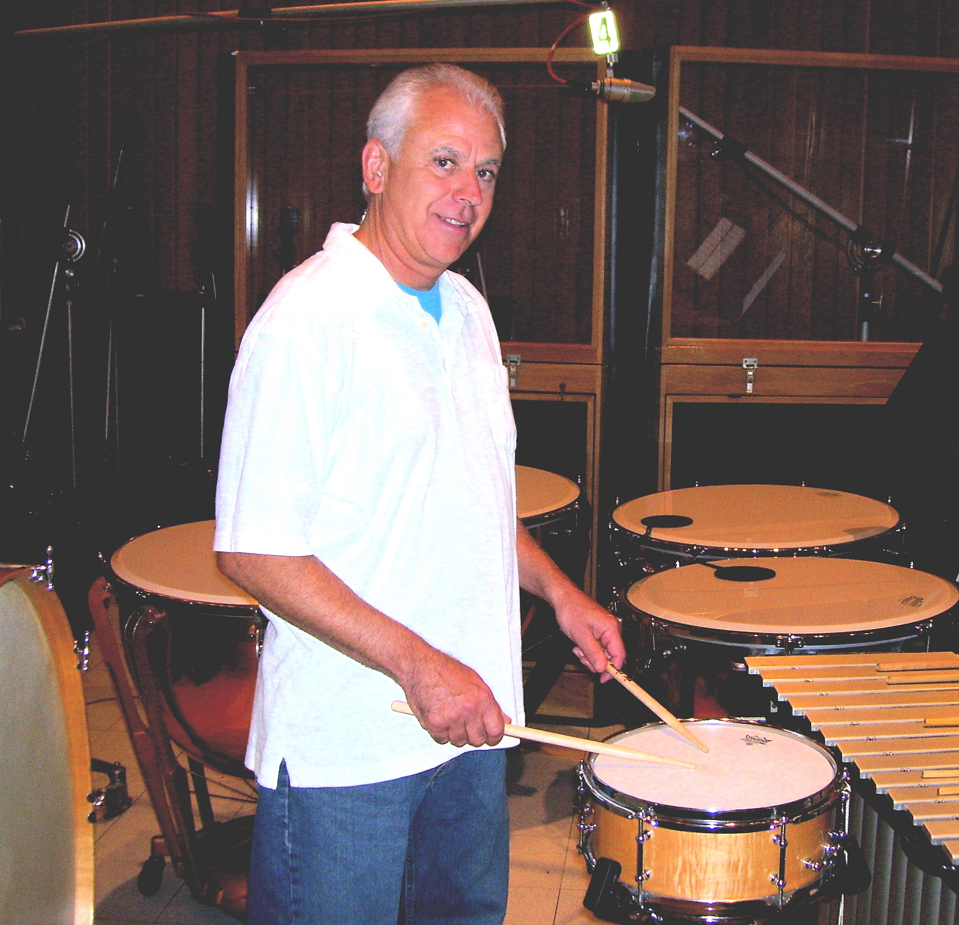 Dan Greco, percussion