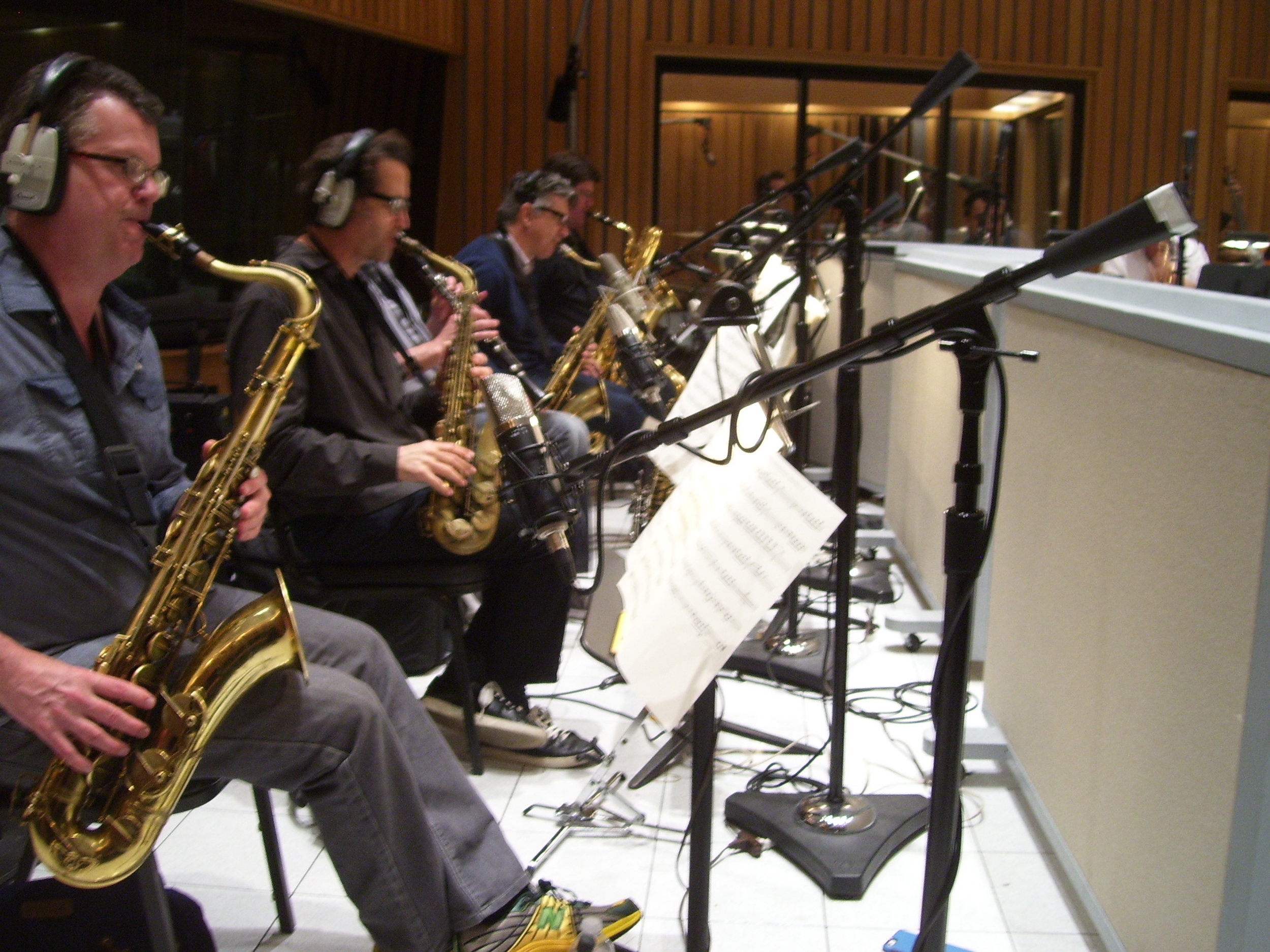 Gordon Goodwin's BPB, saxes