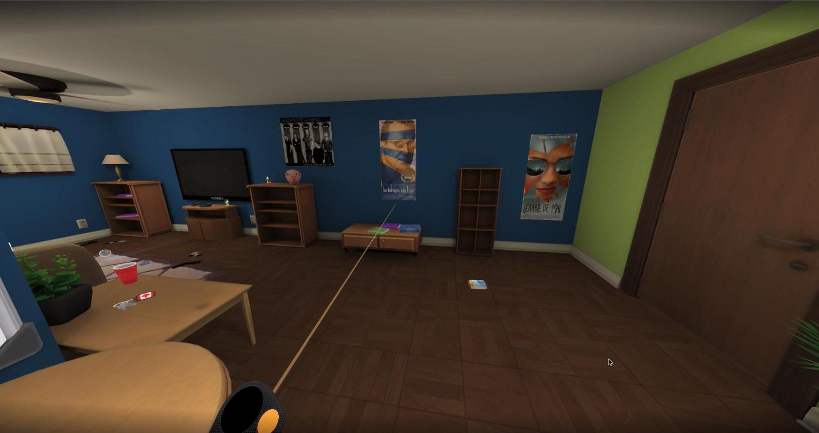 Une image de l'expérience de réalité virtuelle