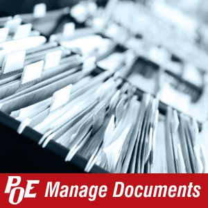 Click here  to find out more POE document management solutions