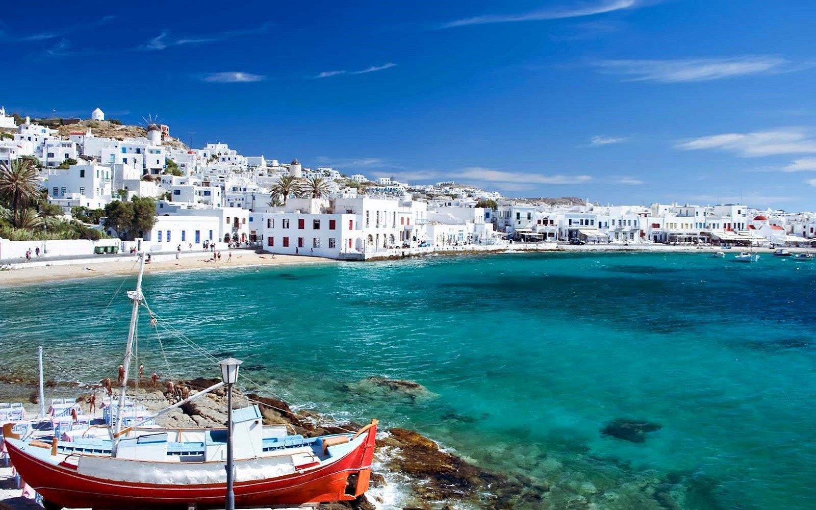 De greske øyer - Les mer om årets tur til Santorini