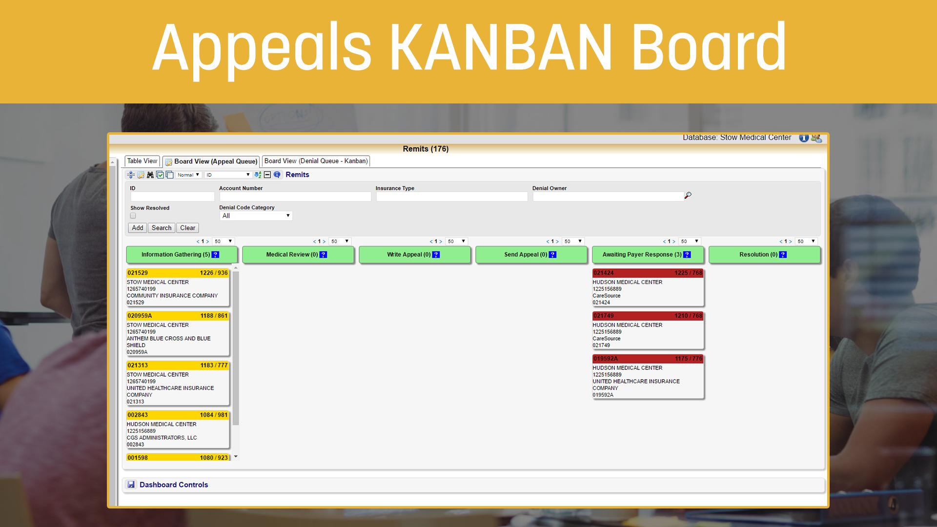 Appeals KANBAN Board