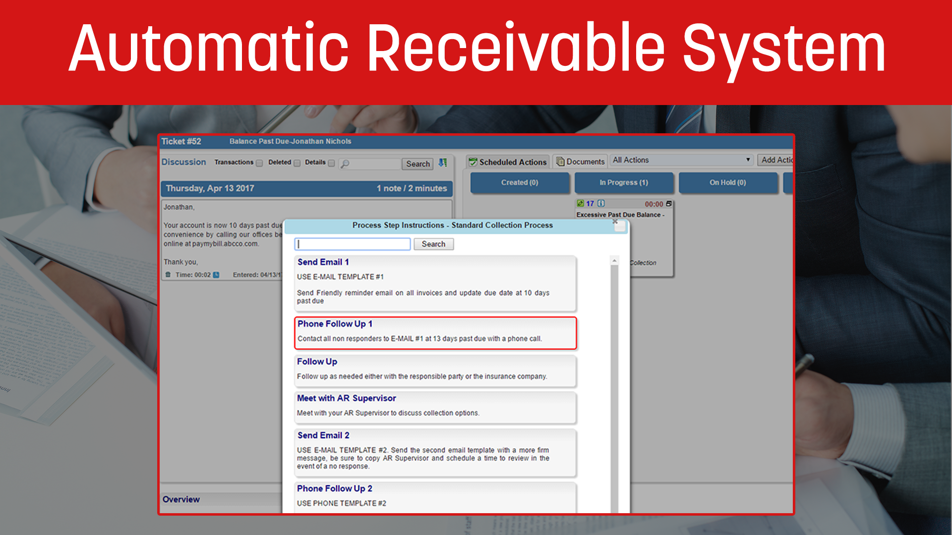 Automatic Receivable System