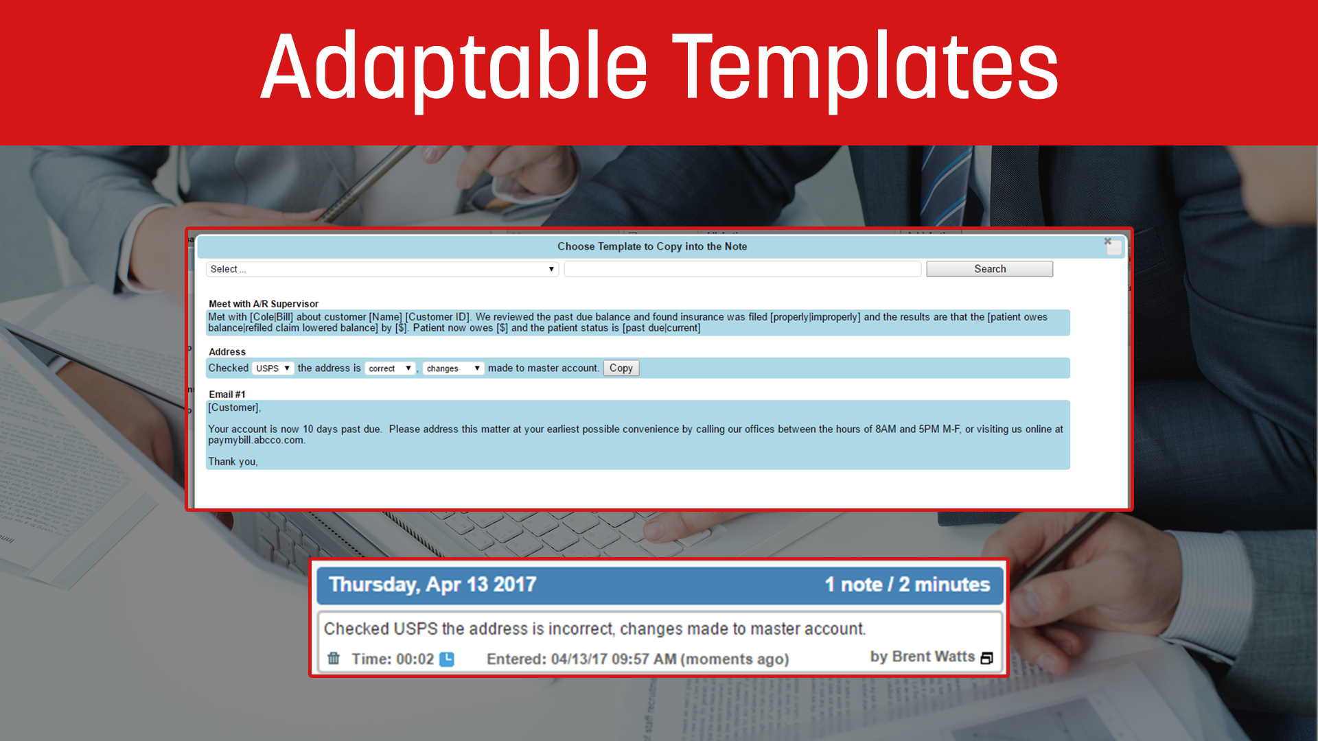 Adaptable Templates