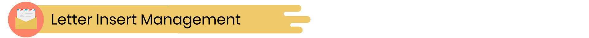 Exact Plus Feature -Letter Insert Management
