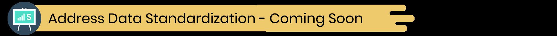 Exact Plus Feature - Address Data Standardization