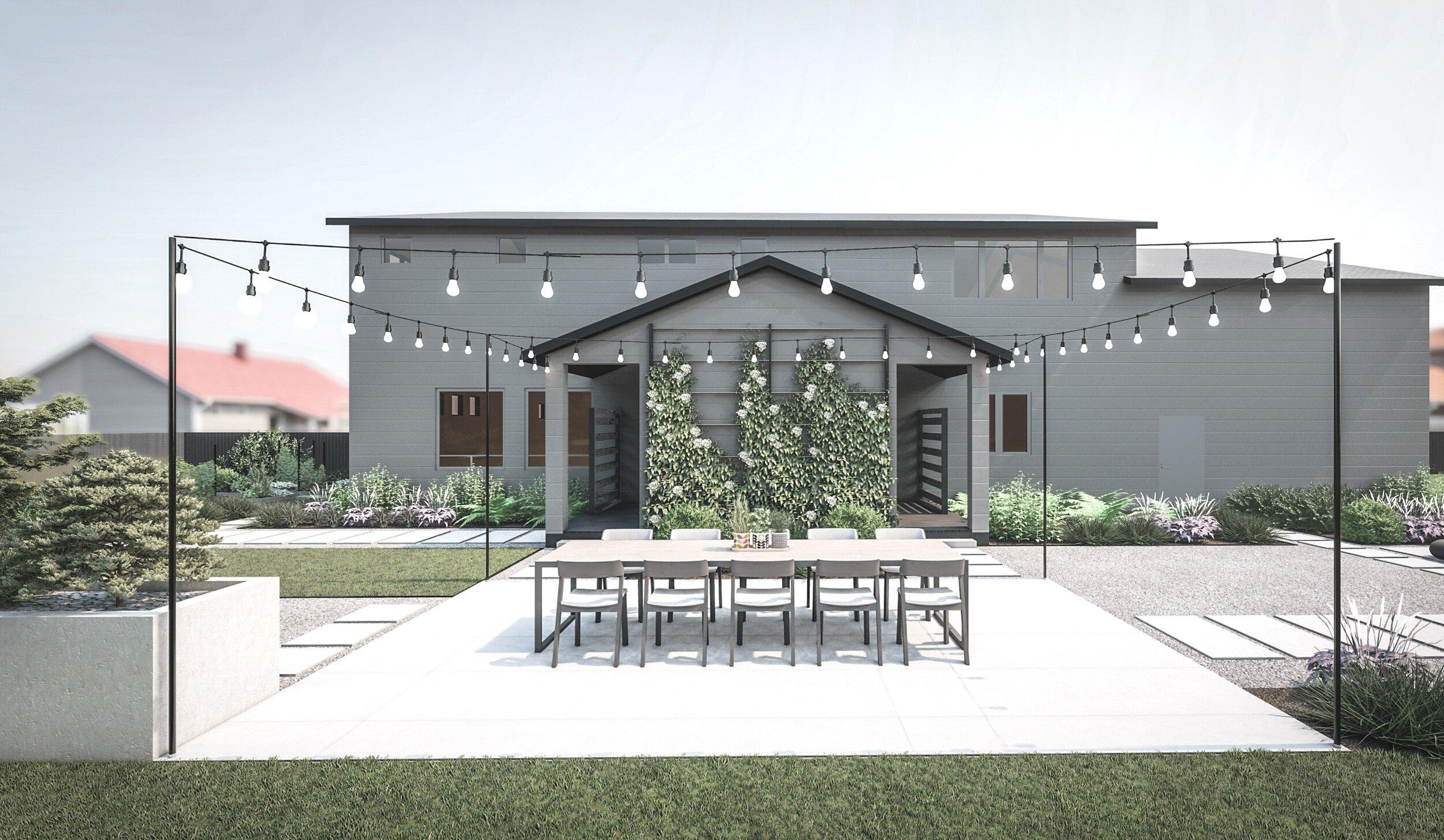 Landscape Design Ideas For The Pacific Northwest Yardzen Online Landscape Design