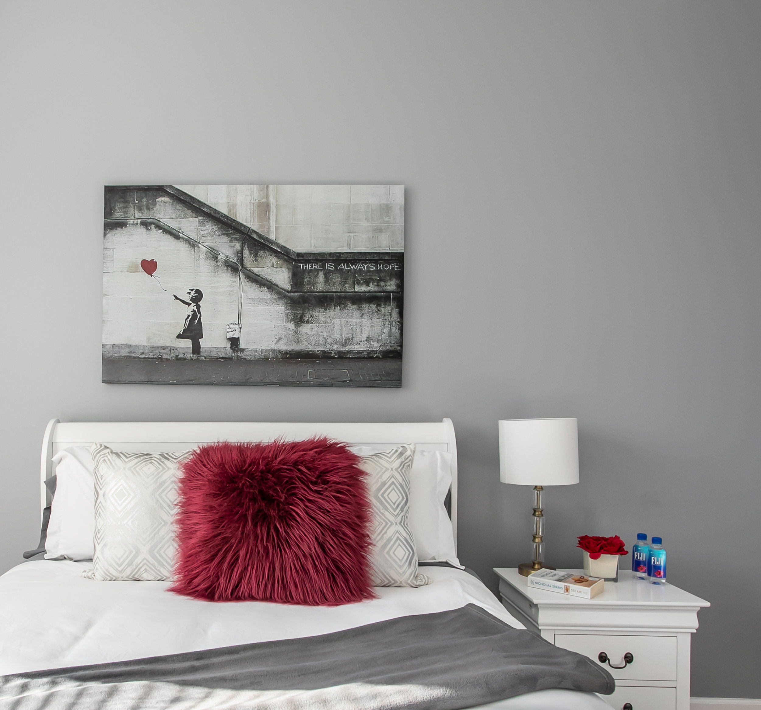 Bedroom in Pilsen, Chicago. Designed and Styled by Claudia Maya