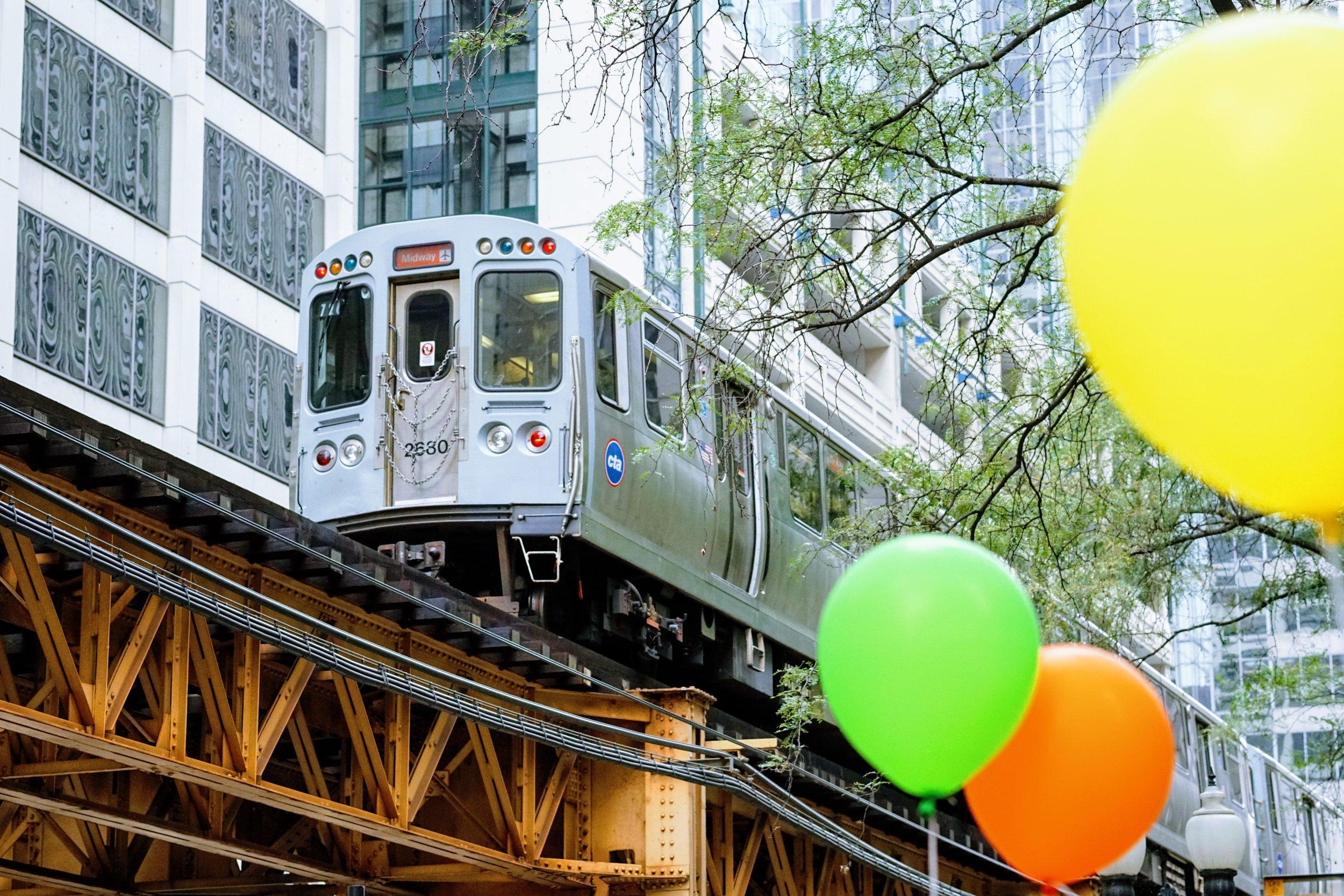 CTA Chicago train