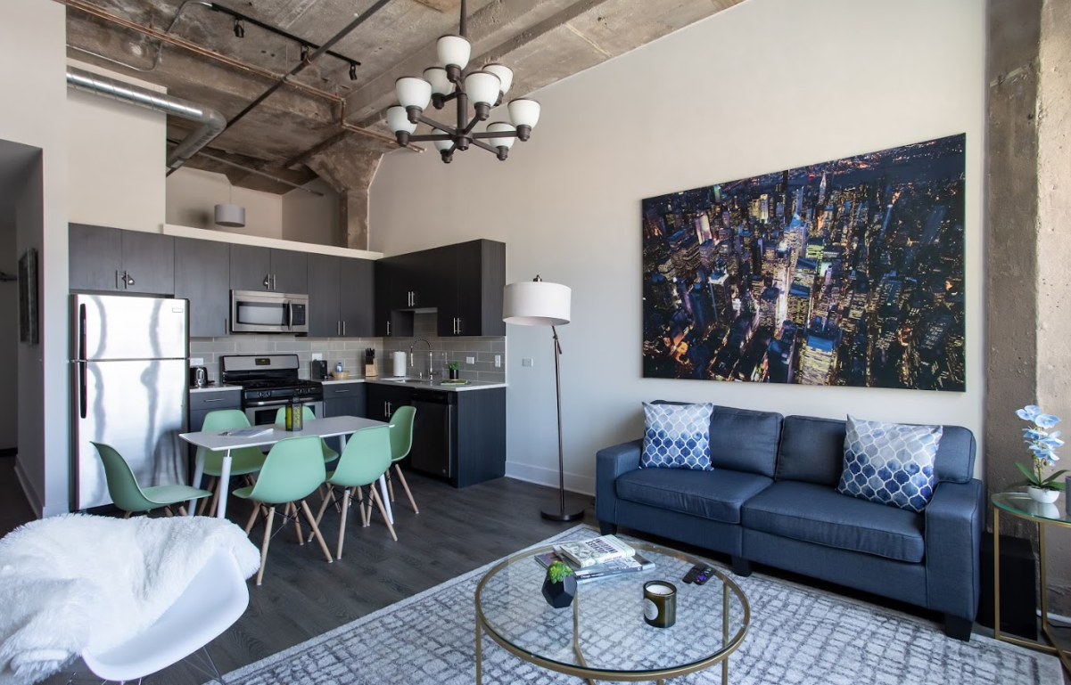 Villard Penthouse (3 bedroom) - South Loop - Chicago, IL