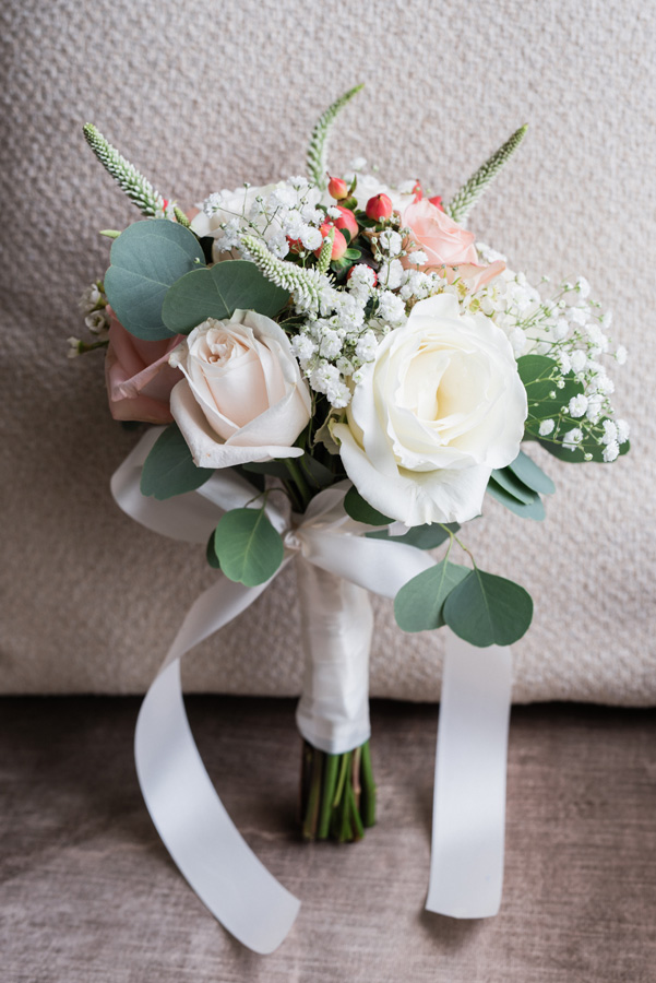 Beautiful bridal bouquet.