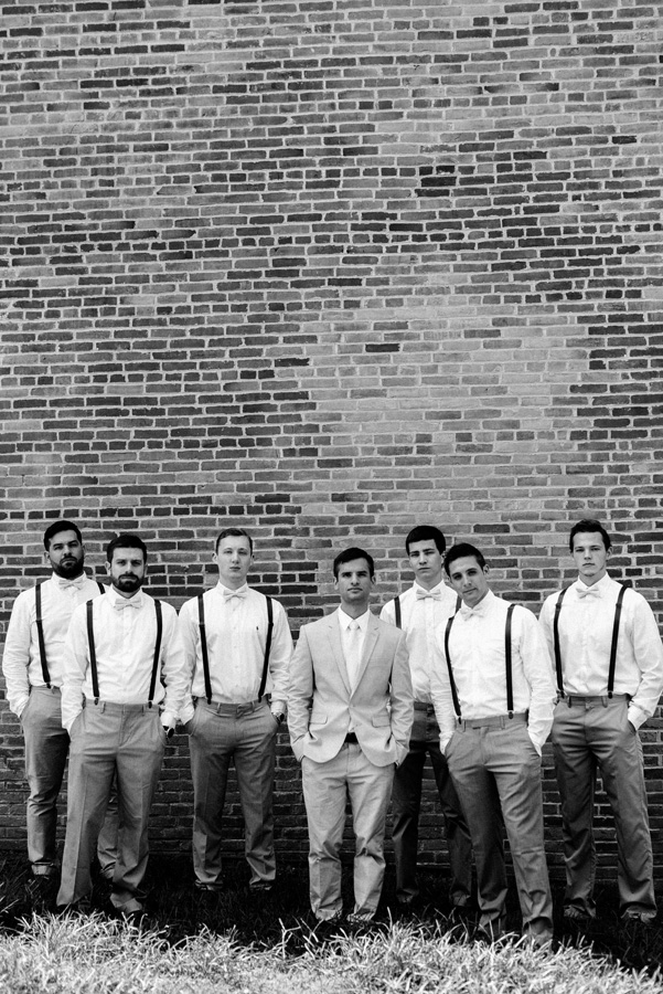 Groom and his groomsmen.