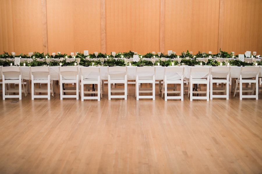 Wedding reception decor.