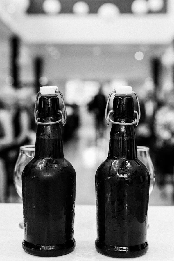 Wedding unity beer.