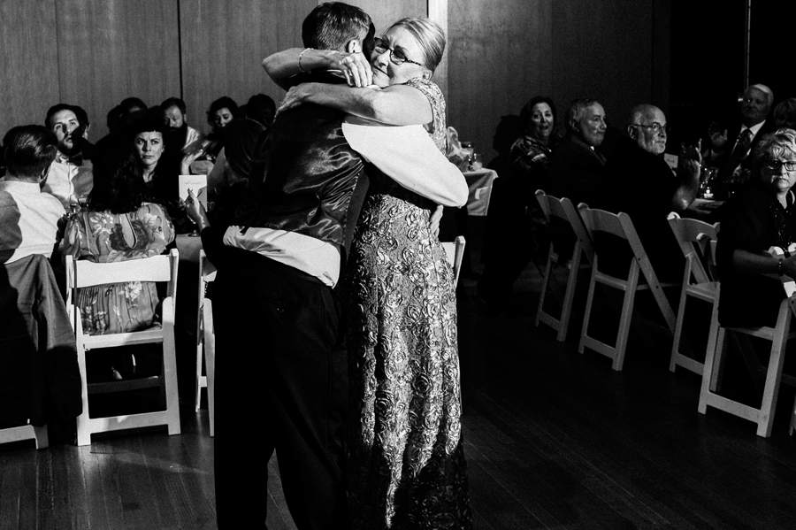 Mother son dance.