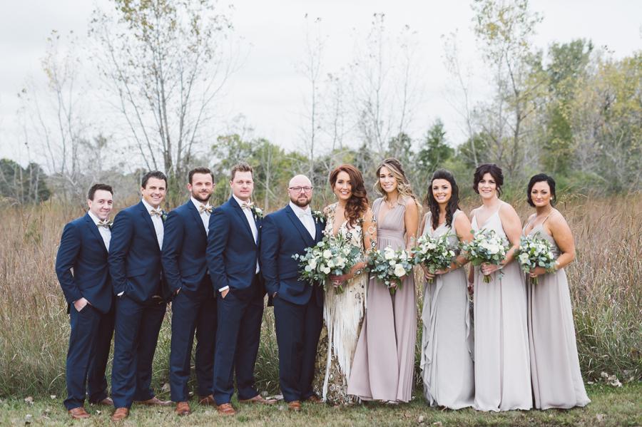 Bridal party portrait.