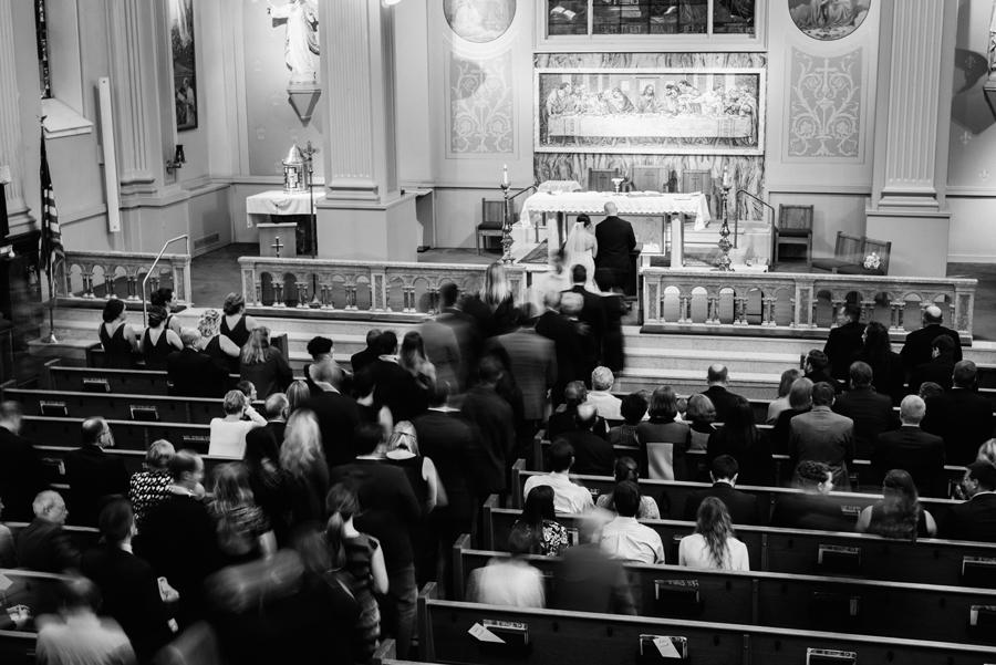 Communion at wedding ceremony.