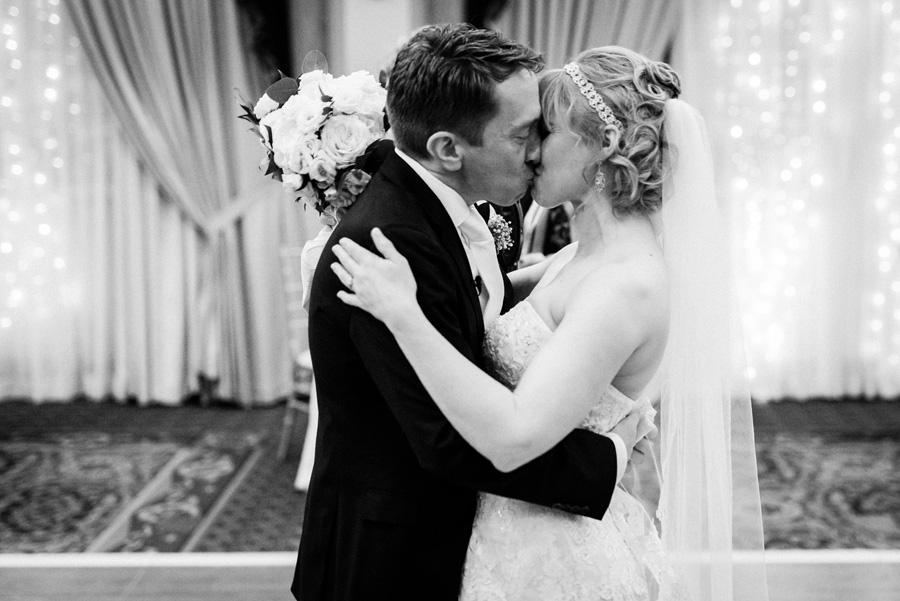 Wedding ceremony at the Carleton in Oak Park.