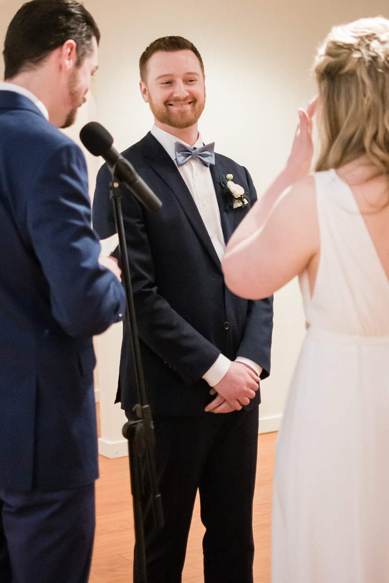 Wedding vows.