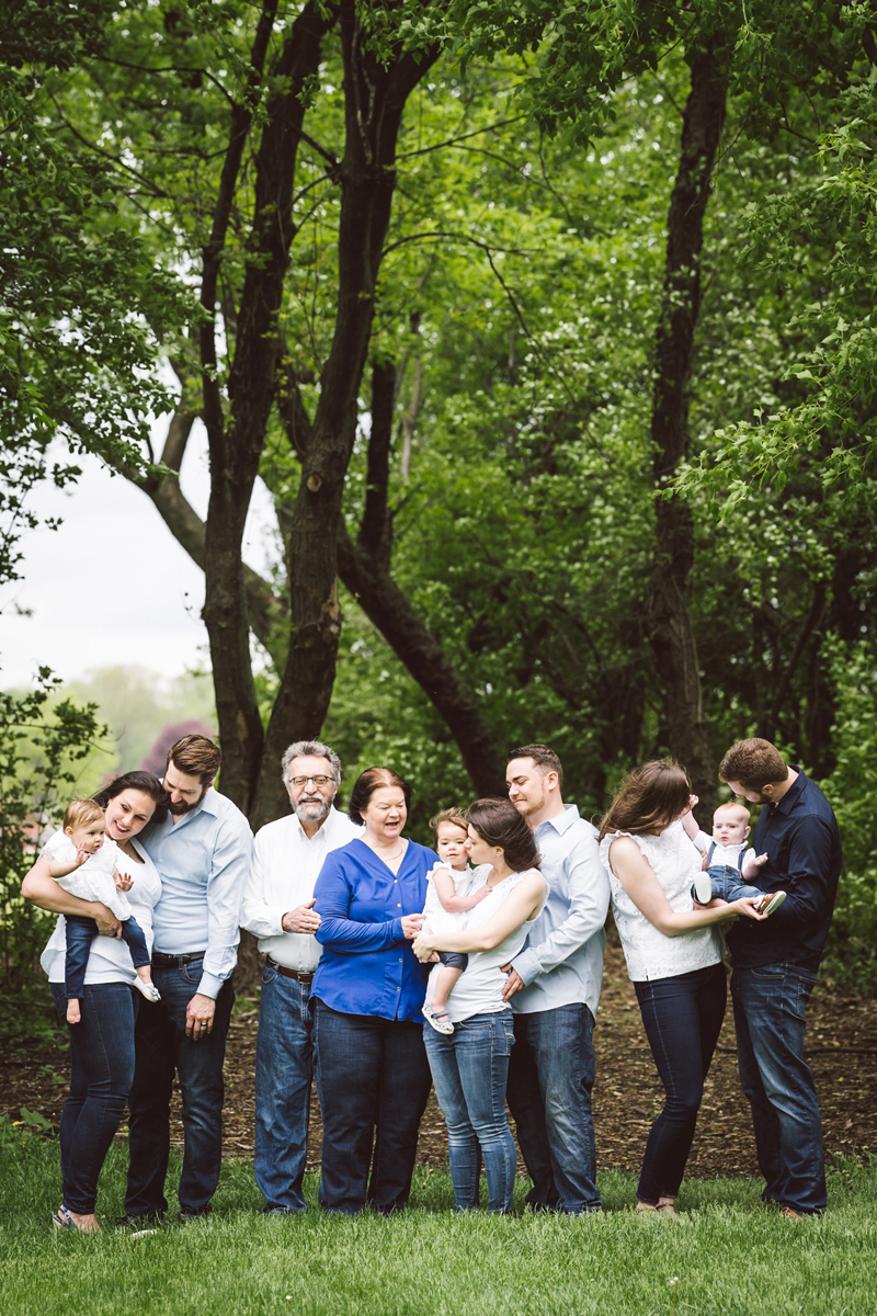 Family photography by Two Birds Photography. Classic, low-key, and natural. Serving Chicago and the suburbs.