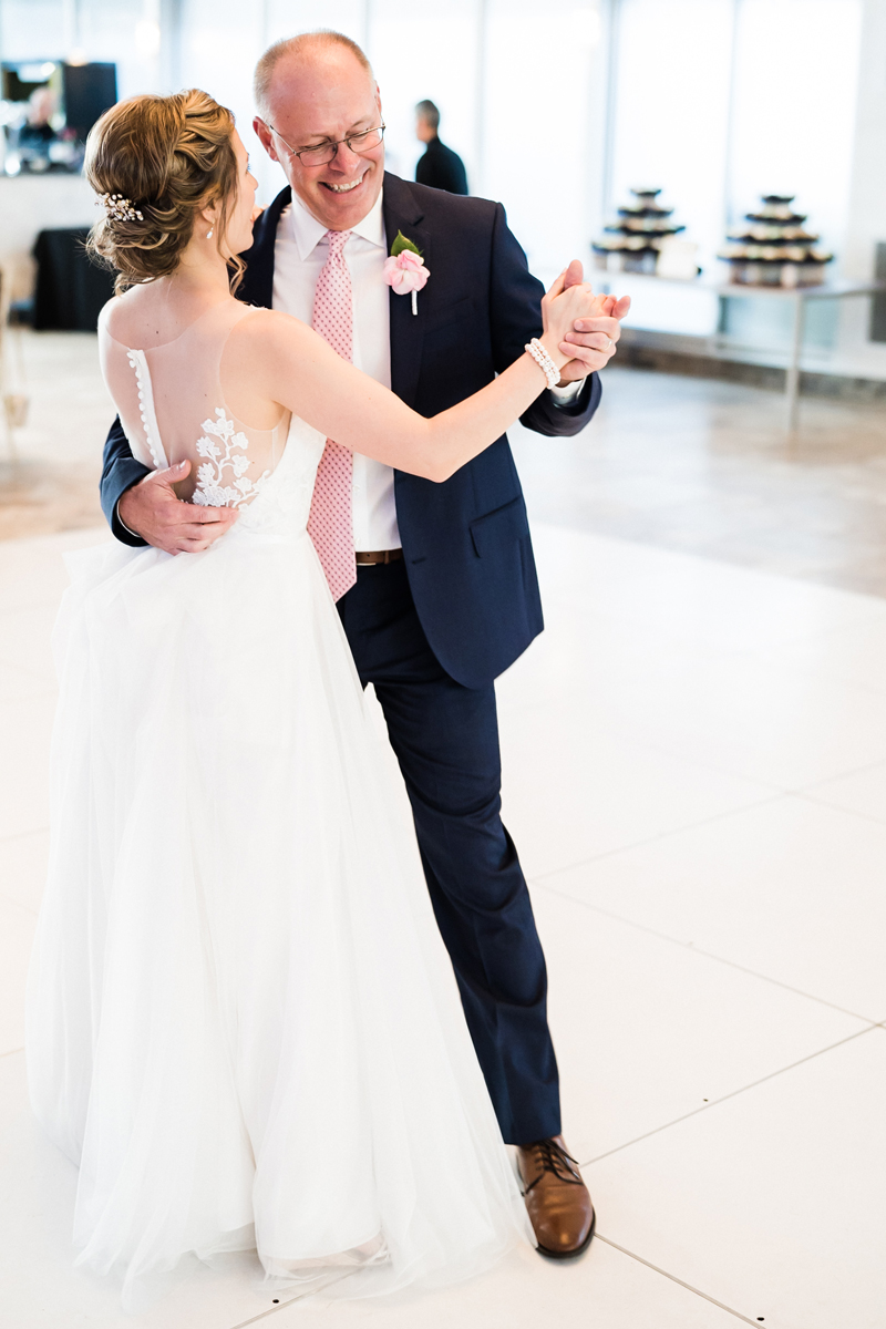 Galleria Marchetti and St. Chrysostom church, Chicago, IL. Wedding photography by Two Birds Photography. Classic, low-key, and natural. Serving Chicago and the suburbs.