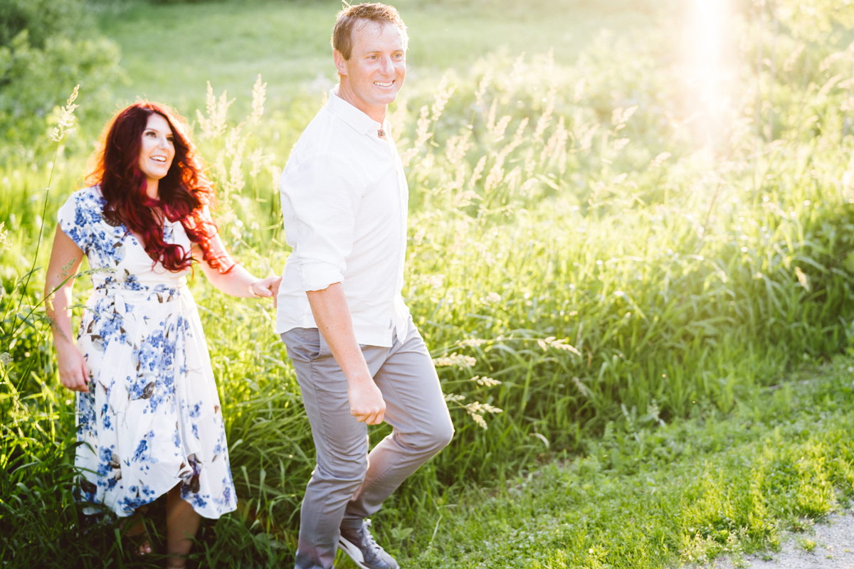 Engagement photography by Two Birds Photography. Classic, low-key, and natural. Serving Chicago and the suburbs.