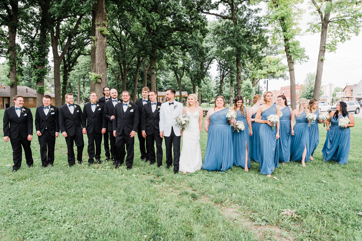 Silver Fox, Streator, IL. Wedding photography by Two Birds Photography. Classic, low-key, and natural. Serving Chicago and the suburbs.