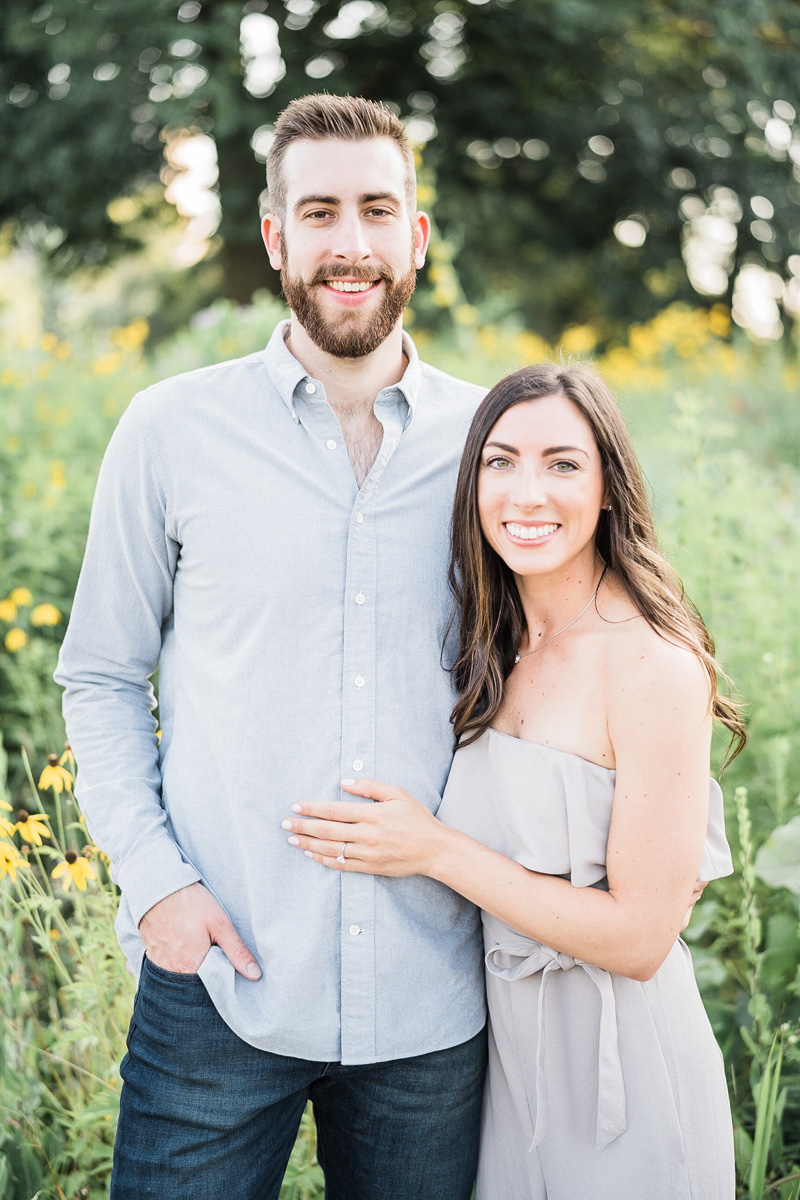 Chicago, IL. Engagement photography by Two Birds Photography. Classic, low-key, and natural. Serving Chicago and the suburbs.