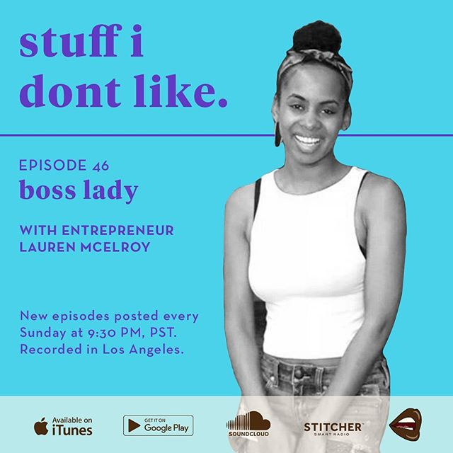 On this episode of the Stuff I Don't Like Podcast, I chat with entrepreneur and founder of Tickleberry Place, Lauren McElroy. We chat about starting a business while working full-time, ways to fund your idea, and how to turn adversity into opportunity. Whether you have ambitions of starting your own business or not, this is a great informational episode with tips on how to improve your work life! You can learn more about Lauren by visiting her business website tickleberryplace.com and following her on Instagram @lamceylove