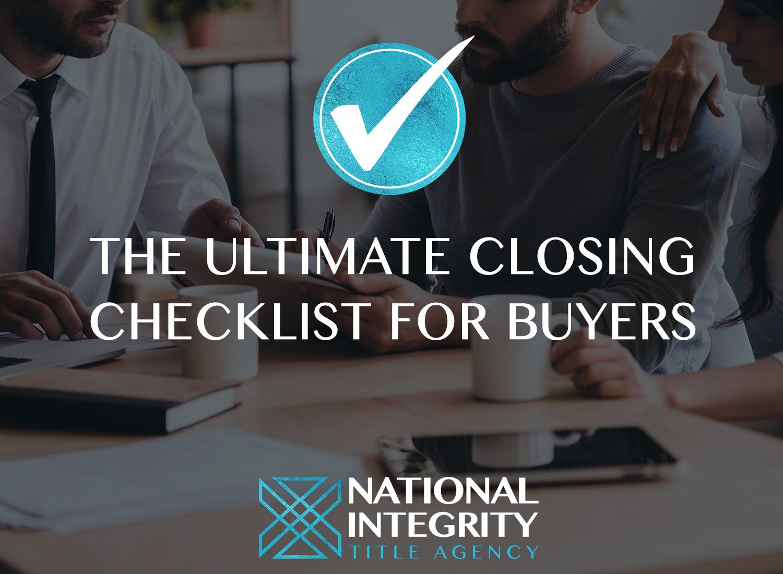 home-closing-checklist