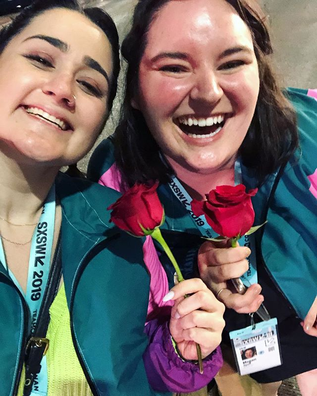 Pure high from getting roses from @boyziimen ALSO matching windbreakers