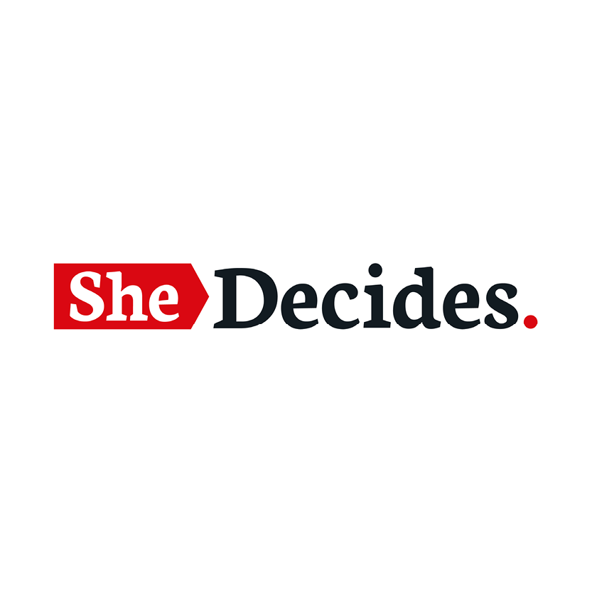 SheDecides  SheDecides is a global movement to promote, provide, protect and enhance the fundamental rights of every girl and woman. Every girl and every woman has the right to do what she chooses with her body; she has the right to health. And these rights affect her personal development, her participation in society, her livelihood and whether her family and community thrives.