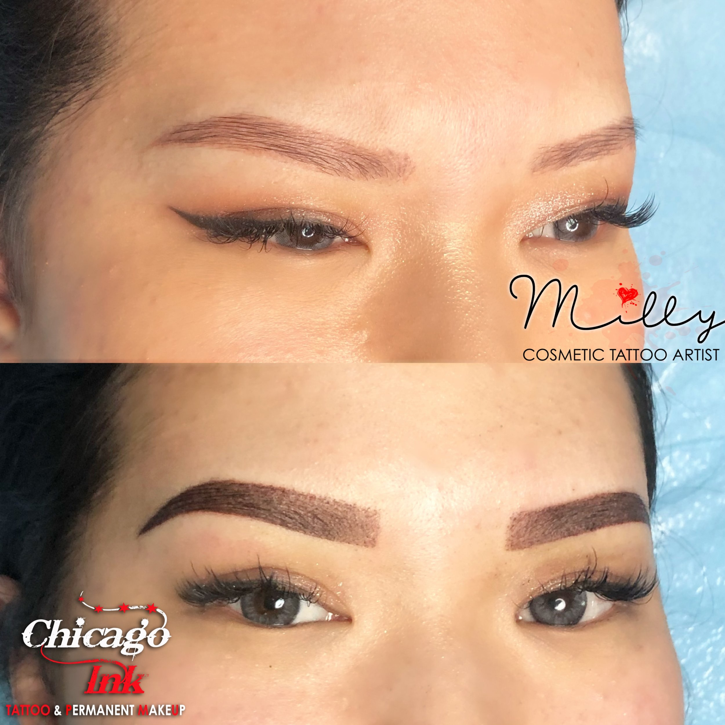 ombre powder brows chicago