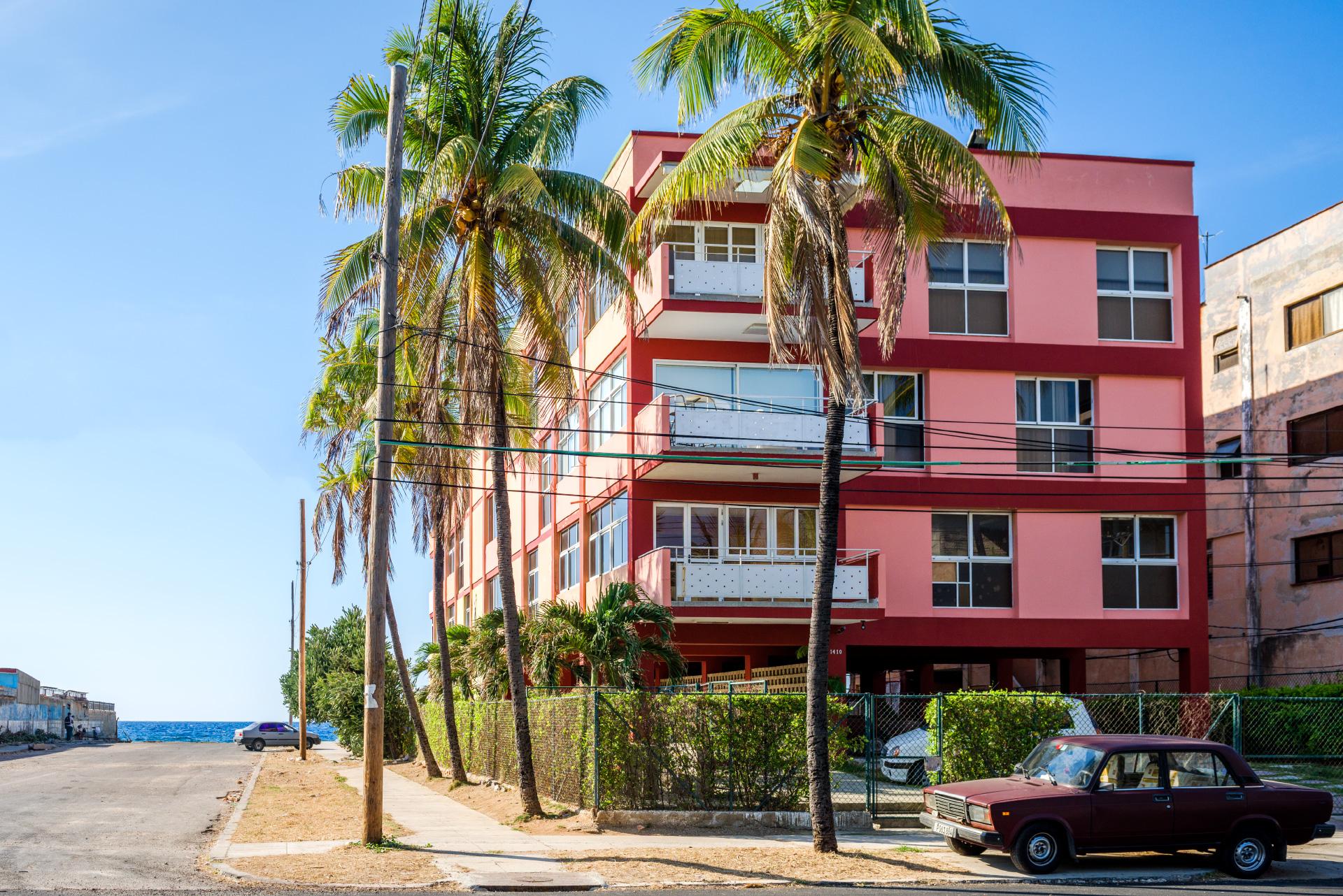 Havana Oceanfront Condo Building