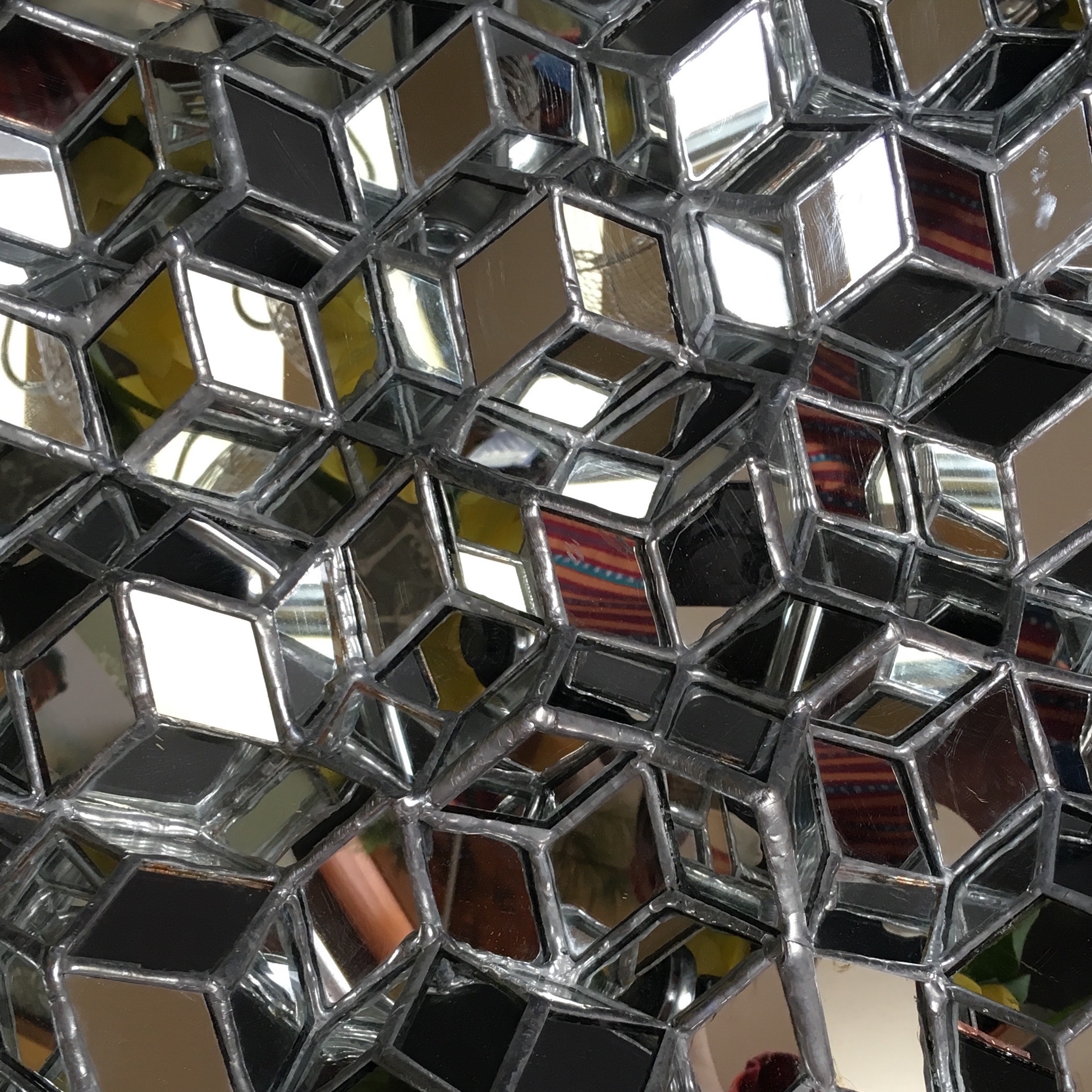 mirrored quasicrystal -