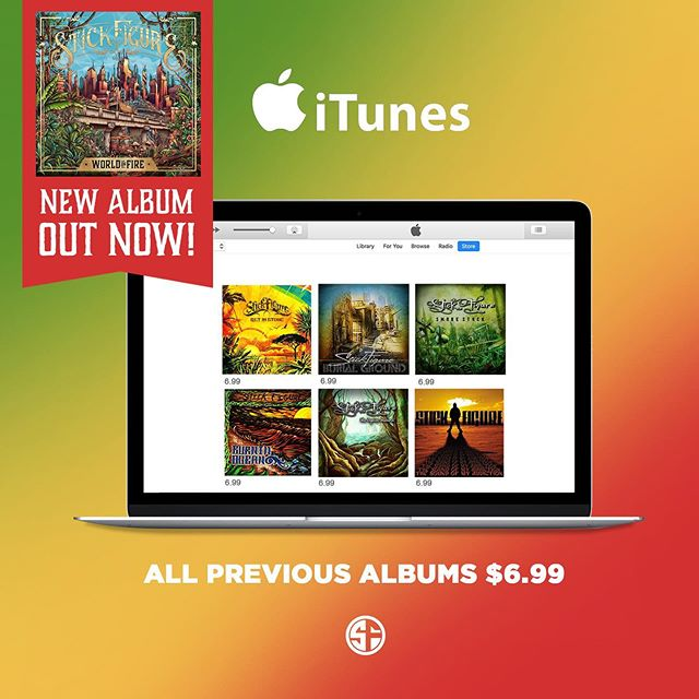 🔺 Full catalog sale🔺 'World on Fire' is available everywhere, and to celebrate - all previous albums on sale now for $6.99 for a limited time! Thank you for supporting independent music 🤙