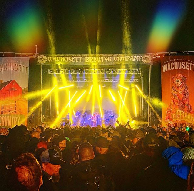 Big thanks to everyone who made it out to the @wachusettbrew 25th anniversary show this weekend in Mass!  Gotta say, this was one of our favorites shows of the year and the energy in the place was unreal!🔥 Thank you for supporting our Cocoanut IPA beer and want to give a huge thanks to Ned and everyone at @wachusettbrew for such a great night! 🍺🙏🏼
