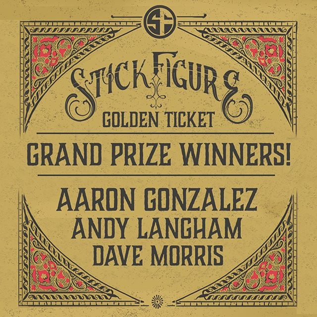 "Thank you to everyone who participated in the Golden Ticket contest!! Congrats to the grand prize winners and all those who won other prizes. And of course, thank you for supporting ""World on Fire!"""