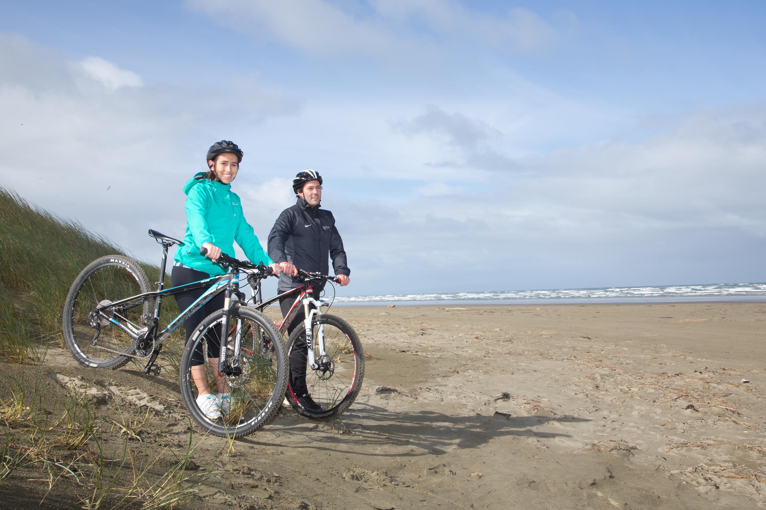 NZ Government, Tourism New Zealand - Oreti Beach Invercargill