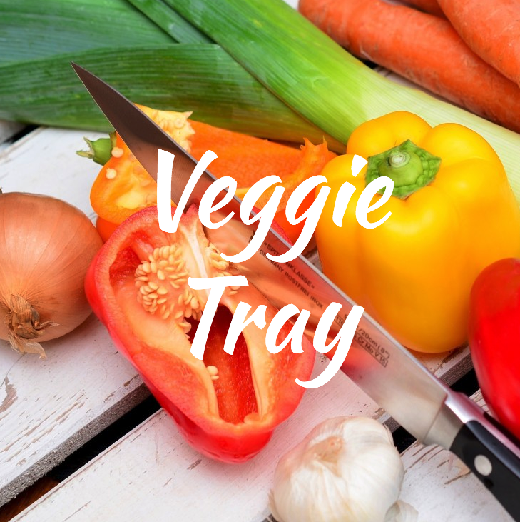 Veggie Trays do not get old. Check out this absolutely instagram worthy messy  veggie board right here .
