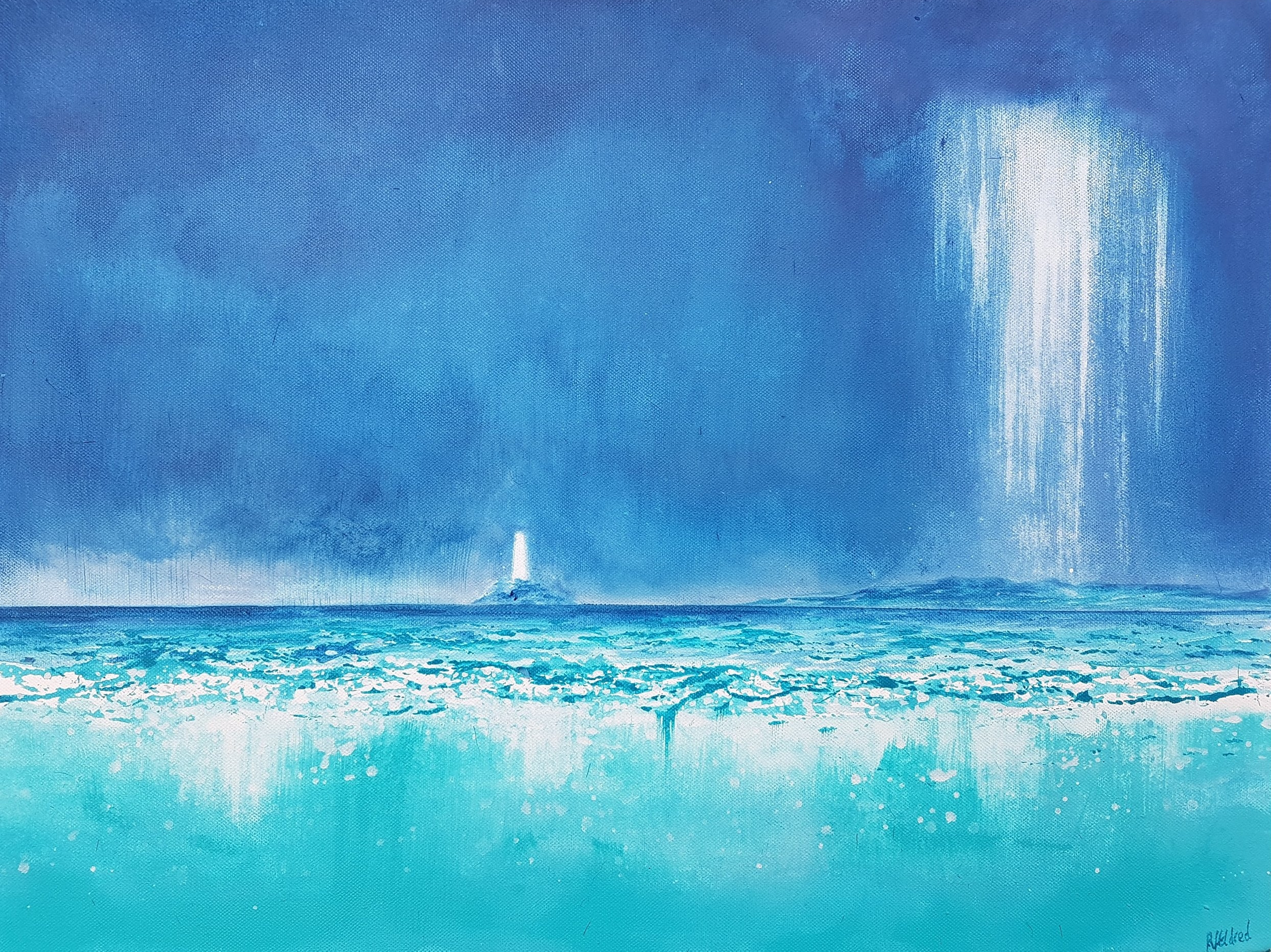 Godrevy Storms - Limited Edition of 25 at Size A5* : A5 £35Limited Edition of 10 at Size A3*: A3 £60