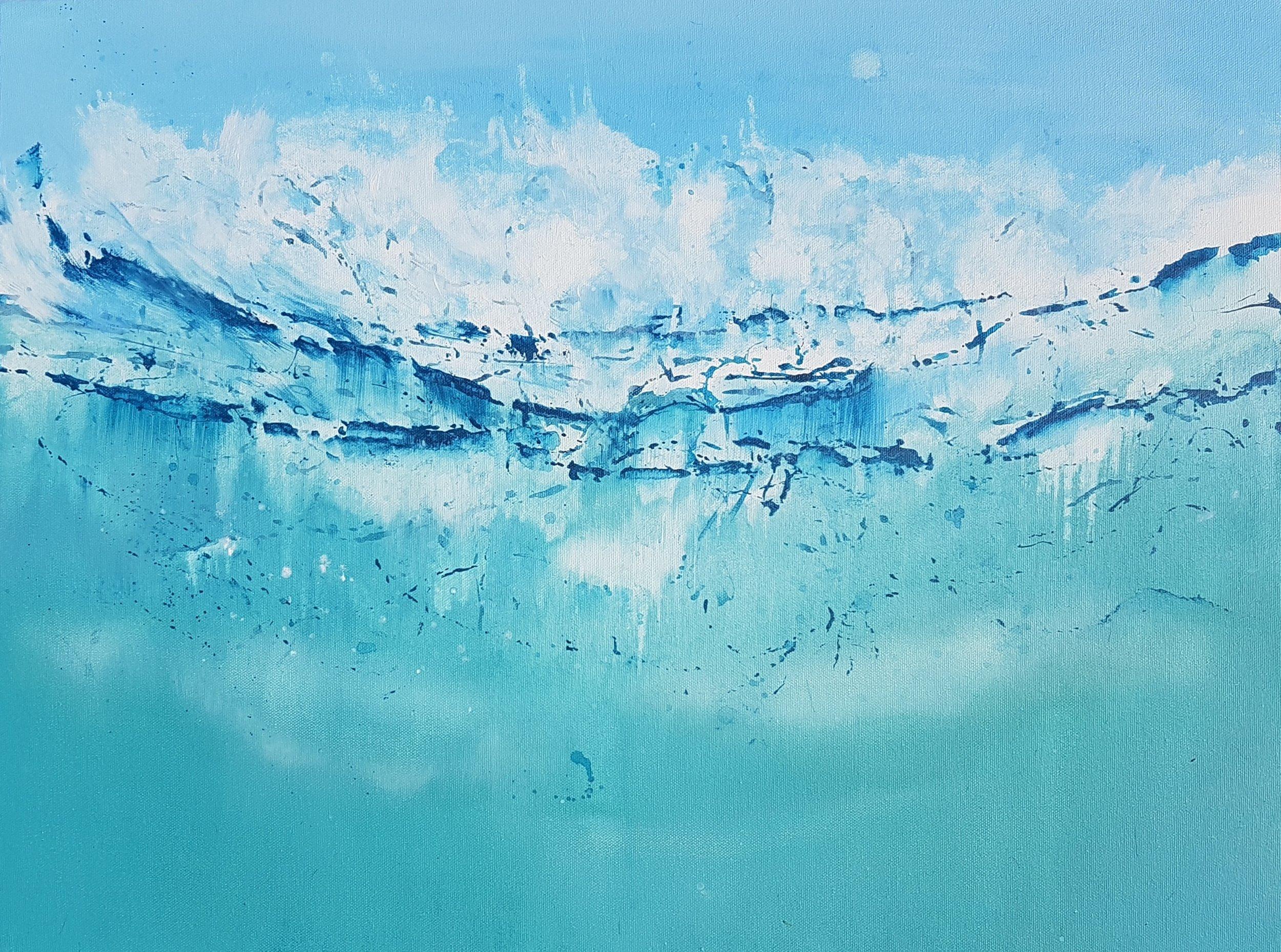 White Water Chaos In Porthtowan SOLD